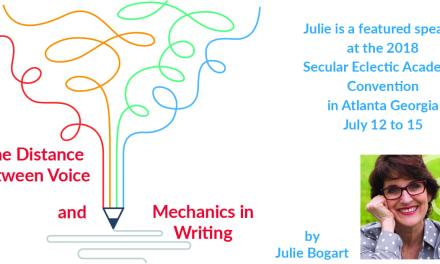 The Distance between Voice & Mechanics by Julie Bogart
