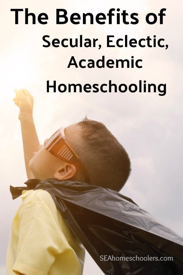 The benefits of secular homeschooling