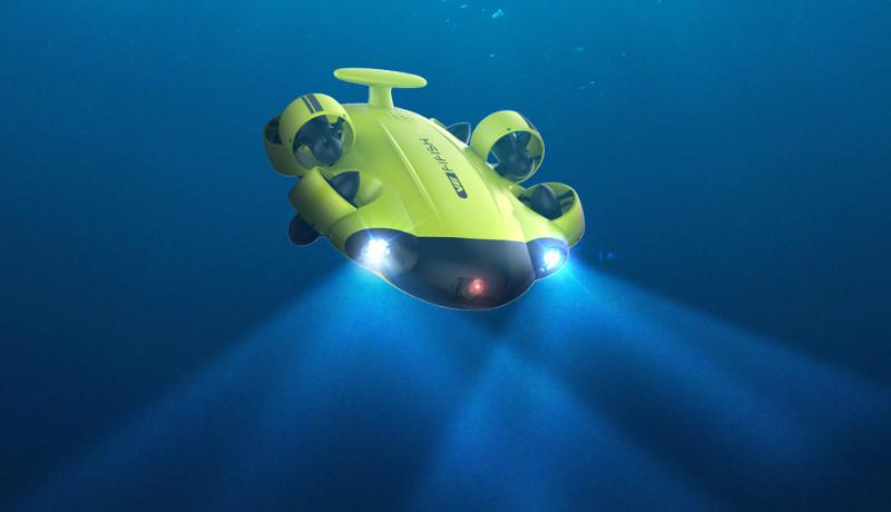 subaquatic drone
