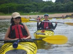 Look mum, I went sea kayaking