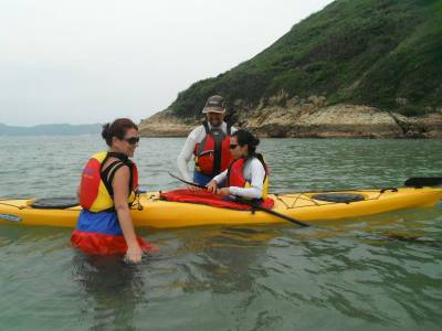 sea kayak hong kong training courses