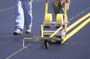 Line Striping Asphalt
