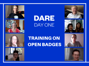 Open Badges training
