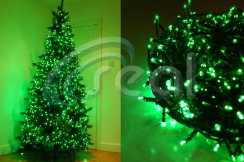 LED Christmas Lights – Green