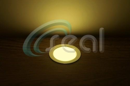 3 x Slimline Floor Lights – Warm White