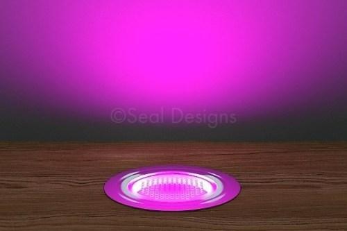 10 x 45mm Kit – Pink Stainless Steel Round Bezel