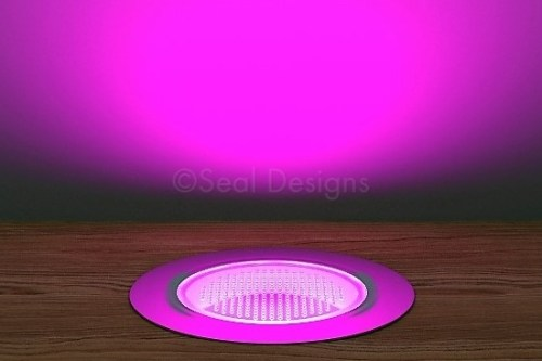 10 x 60mm Kit – Pink Stainless Steel Round Bezel
