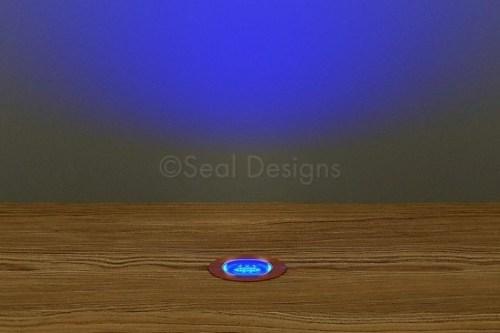 10 x 18mm Kit – Blue Copper Round Bezel