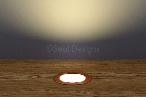 10 x 30mm Kit – Warm White Copper Round Bezel