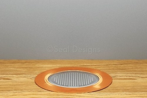 10 x 60mm Kit – Warm White Copper Round Bezel