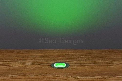 10 x 18mm Kit – Green Stainless Steel Round Bezel