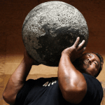 strongman stone ball