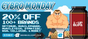 bodybuilding.com cyber monday 2014