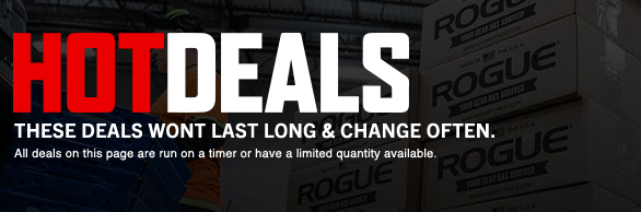 rogue fitness hot deals gear 2015