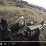 American soldier sprints through Taliban firefight