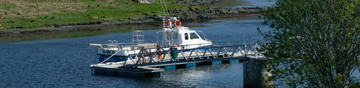 Our easy, wheelchair access boat and pontoon