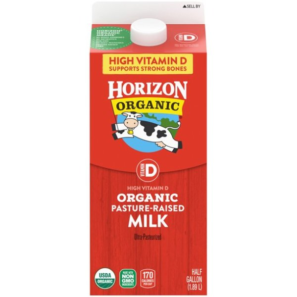 Horizon Organic Vitamin D Whole Milk