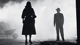 Film Noir style image portraying the power of a Hollywood Star.