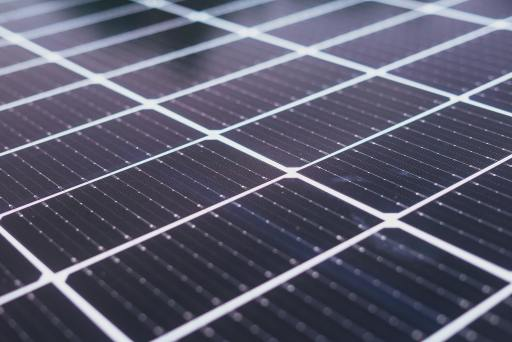 Close up image of solar panels that describe new modern innovation that is needed to be a social entrepreneur.