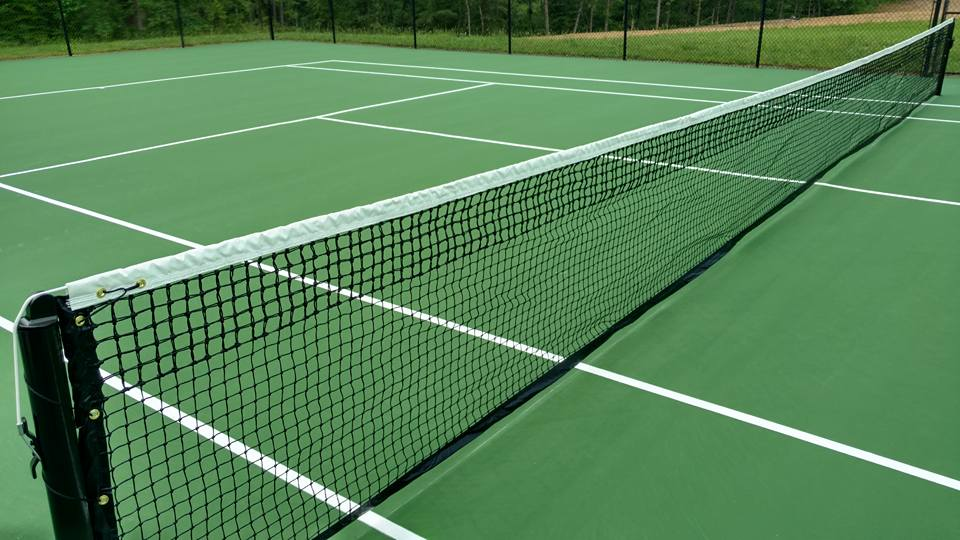 Tennis Court Re-surfaced