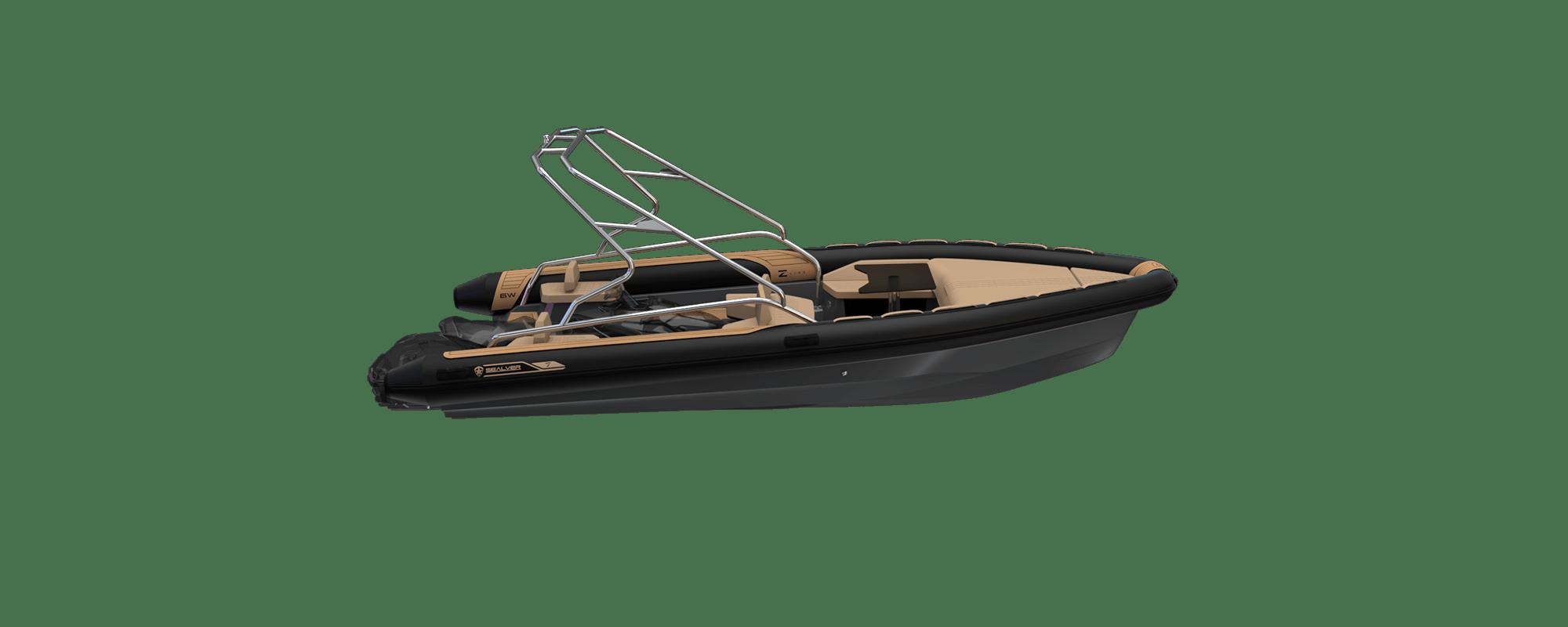Premium waveboat ZLINE Z7 HEVO FULL WAKE Jetski