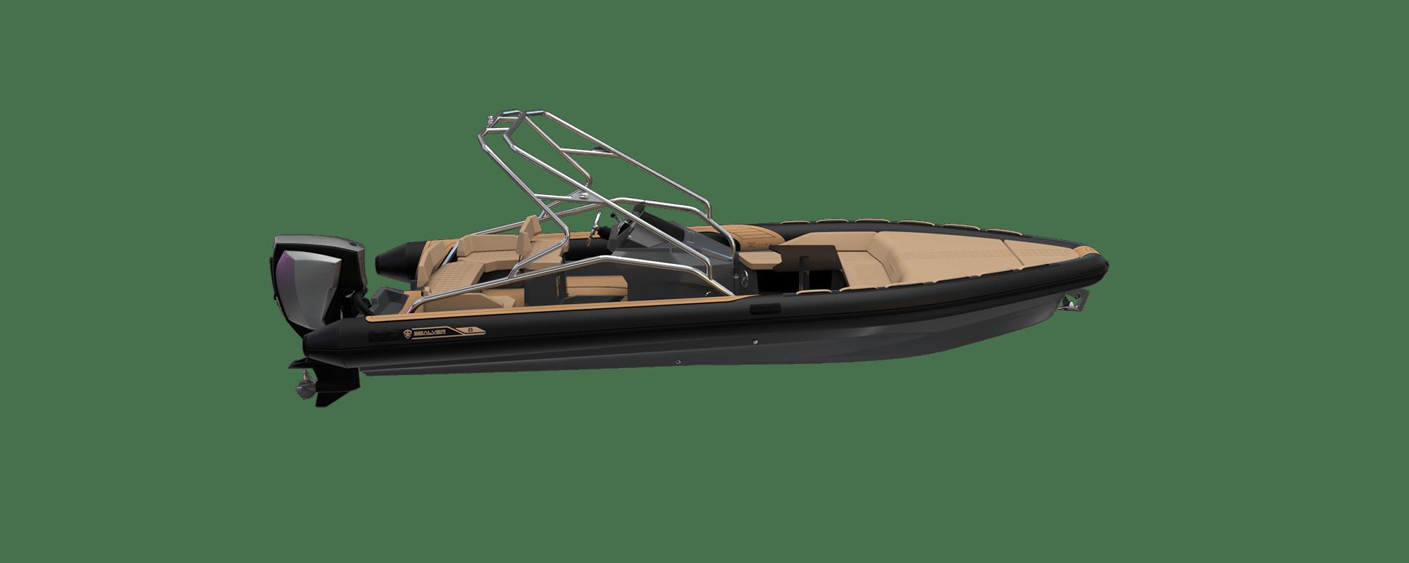 Premium waveboat ZLINE Z8 HYBRIS Hors Bord Outboard