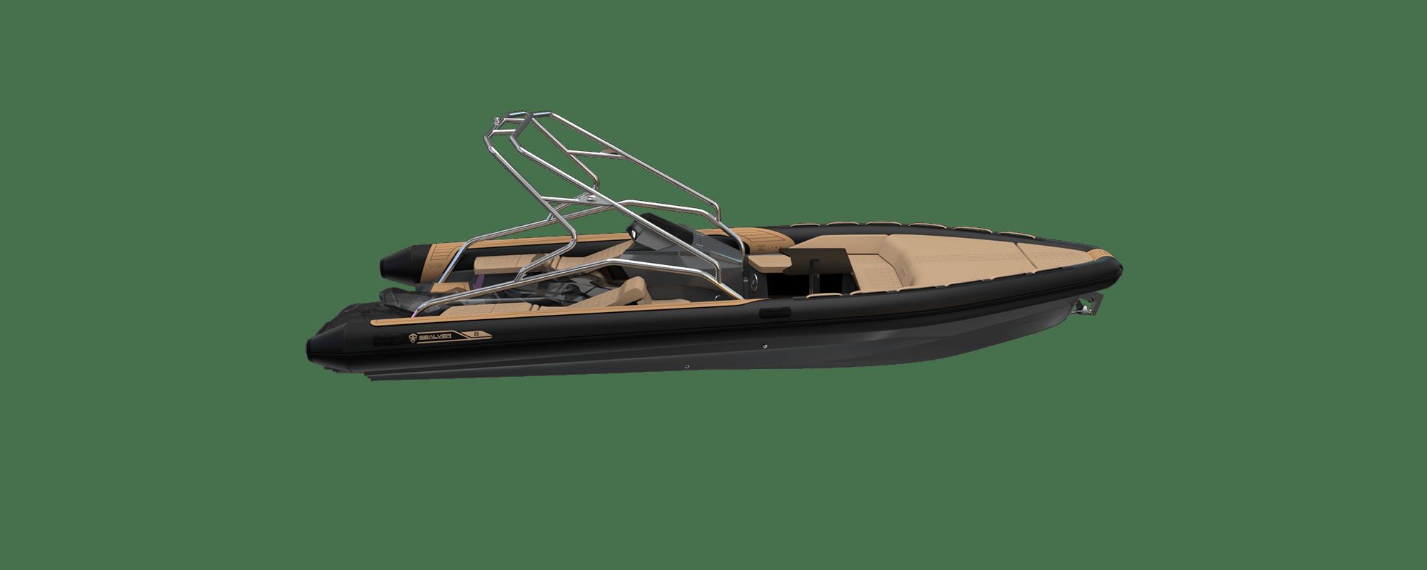 Premium waveboat ZLINE Z8 HEVO Jetski