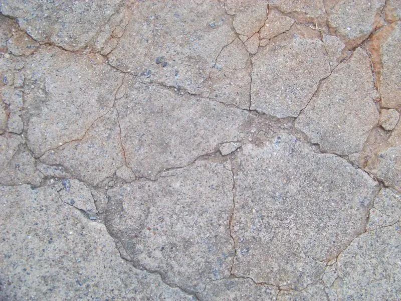 to fix cracked uneven concrete patio