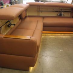 Sofas With Storage Under Sears Sectionals Sea Furniture Marine Hardware - Yacht Sofa Styles