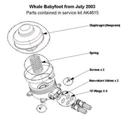 Whale AK4615 Service Kit