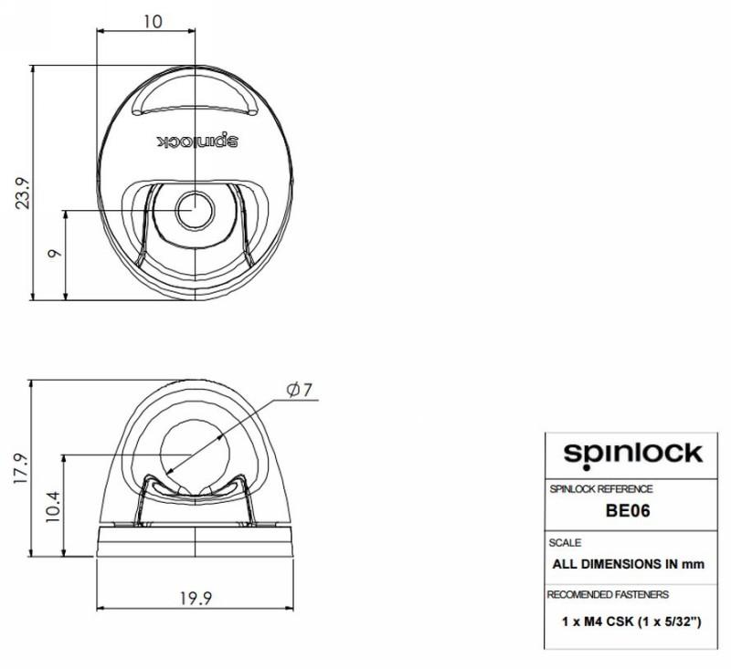 Spinlock Bullseye 6mm BE06