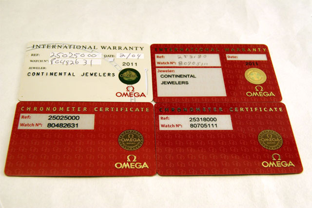 ordering your cosc certificate from omega  the seamaster