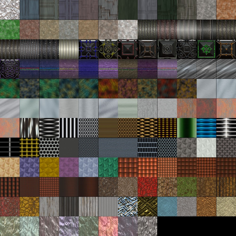 Textures Unleashed Lite Volume 13: Metal II