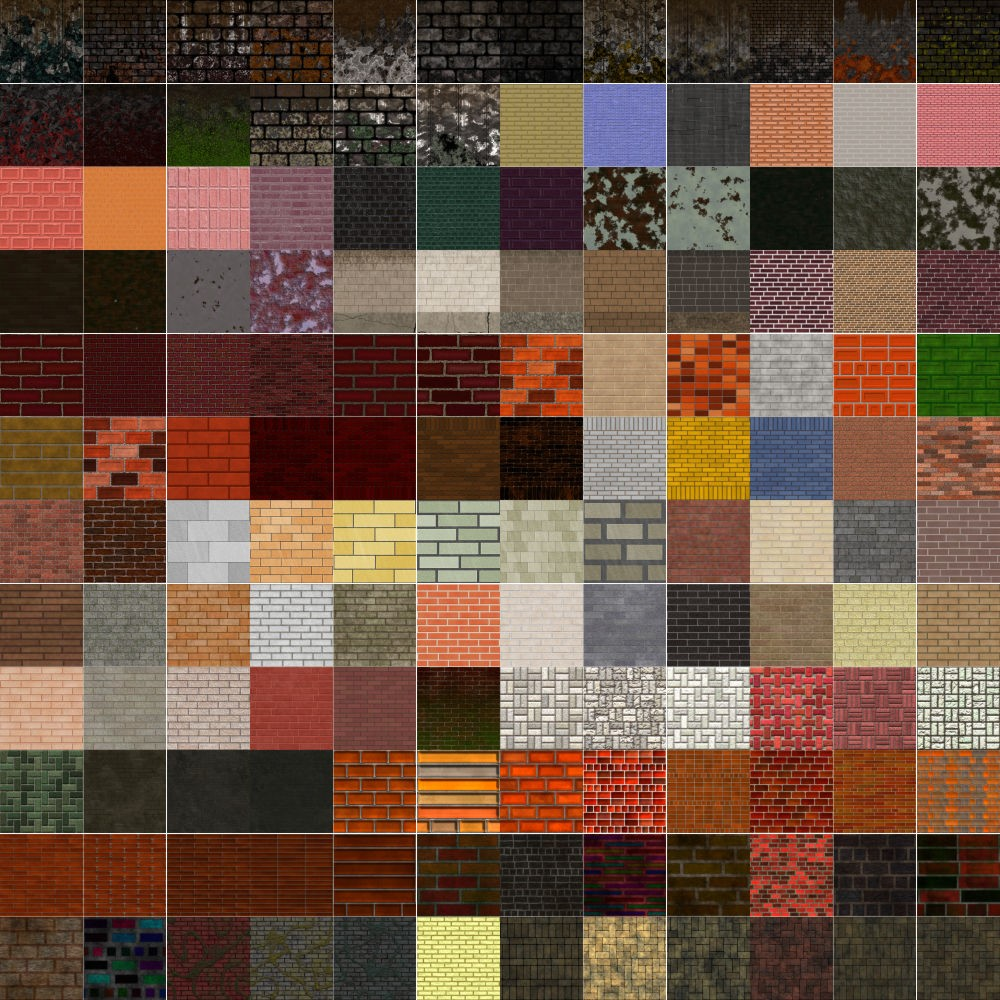 Textures Unleashed Lite Volume 19: Brick