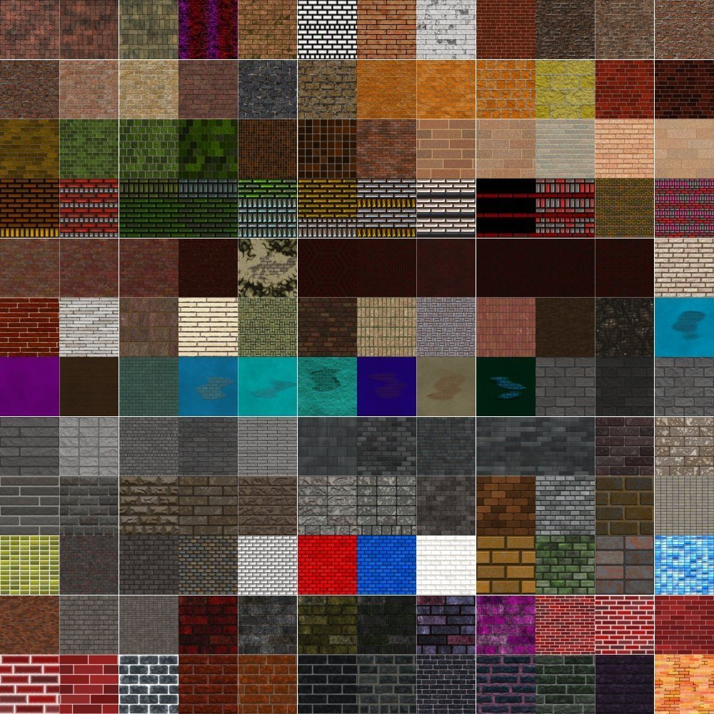 Textures Unleashed Lite Volume 26: Brick