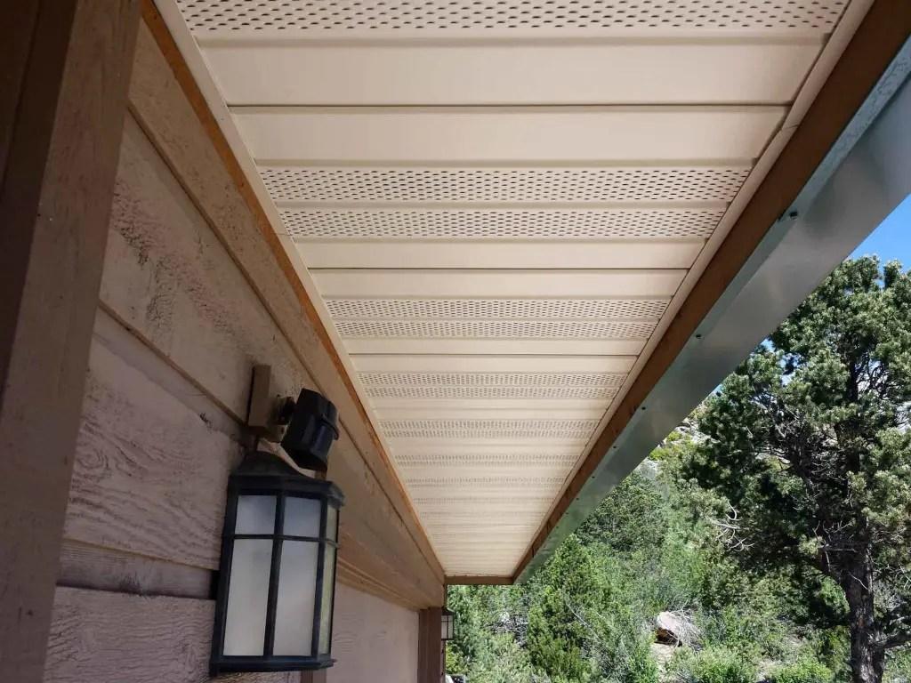 Aluminum Soffit Ceiling Installation  Shelly Lighting