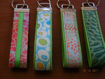 a sample of wrist fobs available