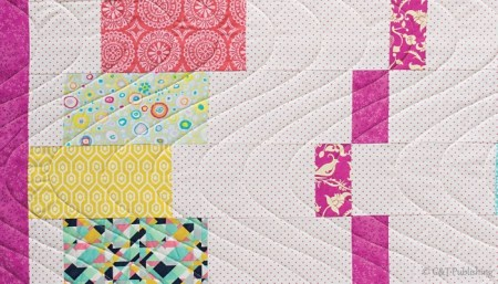 Favorite Spring Quilts, featured by top US quilting blog, Seams Lie a Dream Quilt Designs: Dance Party