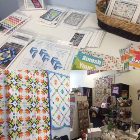 pics from my book signing at Dragonfly's Quilt Shop