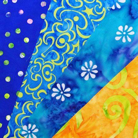 4 fabric quilt