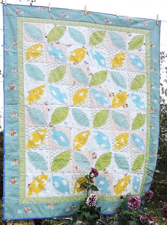 Little Leaves- a Fram Fresh series quilt pattern by Kate Colleran and Alyssa DesRosier