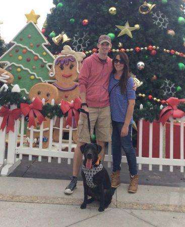 Scott, Jocelyn and the granddog- Benson