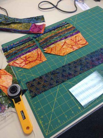 Braid in batiks