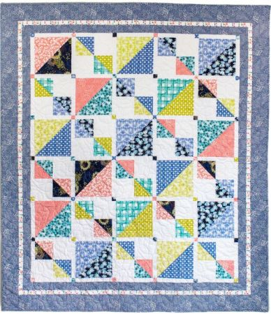Savannah Squares, a new quilt pattern by Kate Colleran