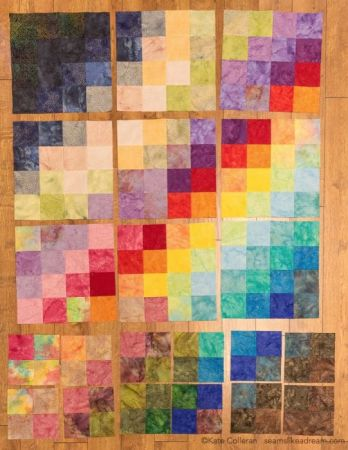 Island Batik Four Seasons Quilt Pattern featured by top US quilting blog and shop, Seams Like a Dream Quilt Designs: Batik quilt