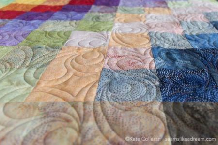 Island Batik Four Seasons Quilt Pattern featured by top US quilting blog and shop, Seams Like a Dream Quilt Designs