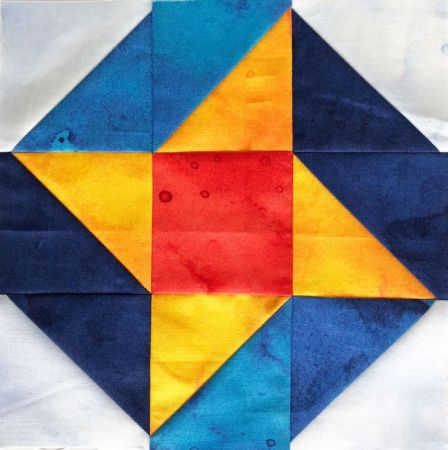 Adventures in Quilting- the Half Square Triangle