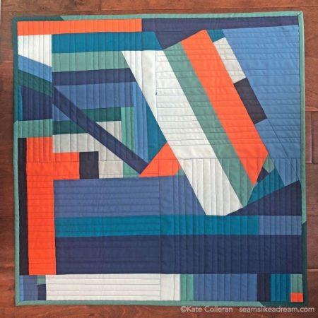Improv quilt pattern