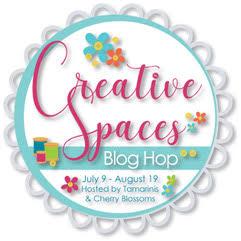 Creative Spaces Blog Hop Begins!