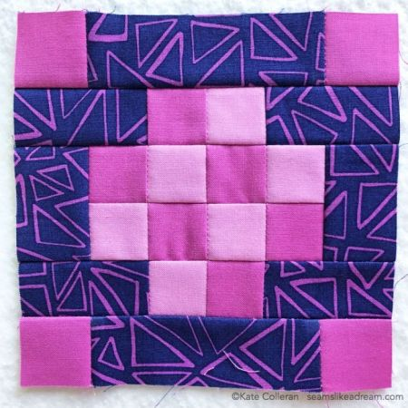 100 Quilt Blocks in 100 Days featured by top US quilting blog and shop, Seams Like a Dream Quilt Designs: tula pink solids